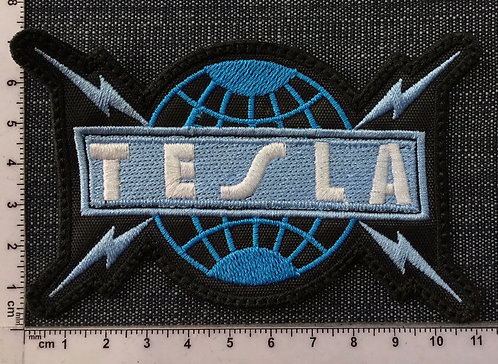 TESLA - LOGO EMBROIDERED PATCH