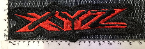 XYZ - LOGO EMBROIDERED PATCH