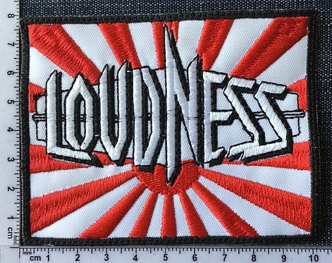 LOUDNESS - LOGO EMBROIDERED PATCH