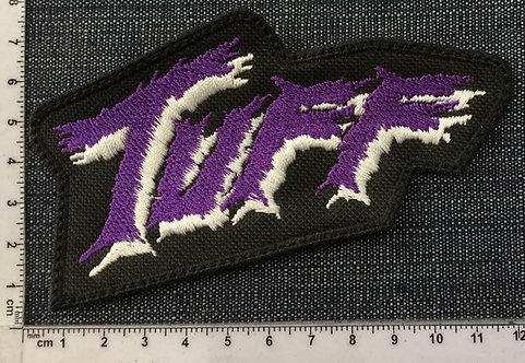 TUFF - LOGO EMBROIDERED PATCH
