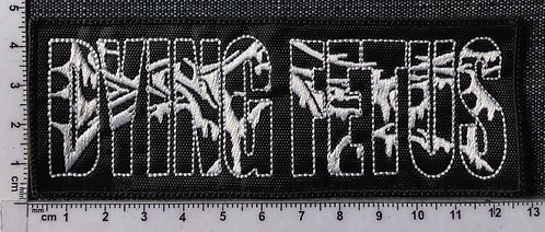 DYING FETUS - EMBROIDERED PATCH