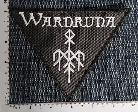 WARDRUNA - LOGO EMBROIDERED PATCH