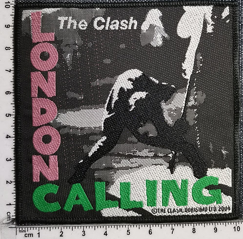 CLASH, the - London Calling Woven Patch