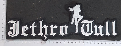JETHRO TULL - LOGO EMBROIDERED BACKPATCH