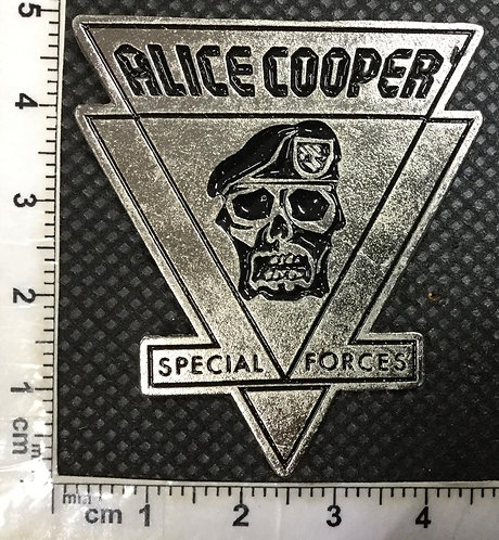 ALICE COOPER - SPECIAL FORCES Metal Pin