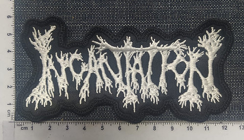 INCANTATION - SHAPED LOGO EMBROIDERED PATCH