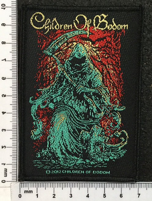 CHILDREN OF BODOM - DEATH WOVEN PATCH