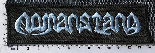 NOMANSTANG - LOGO EMBROIDERED PATCH