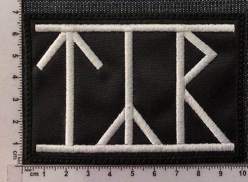 TYR - LOGO EMBROIDERED PATCH
