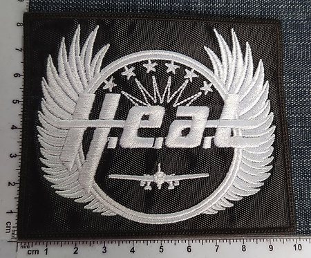 H.E.A.T. - SQUARE EMBROIDERED PATCH