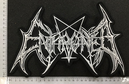 ENTHRONED -  LOGO EMBROIDERED BACK PATCH