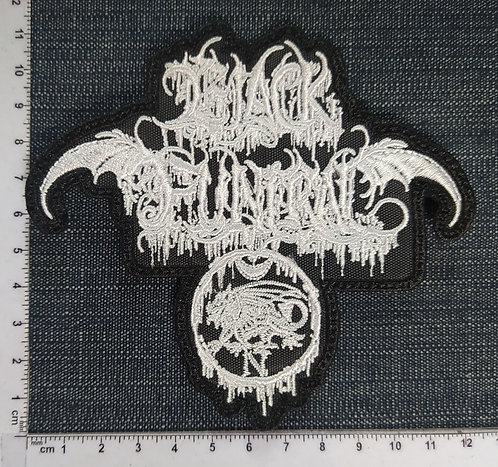 BLACK FUNERAL - LOGO EMBROIDERED PATCH