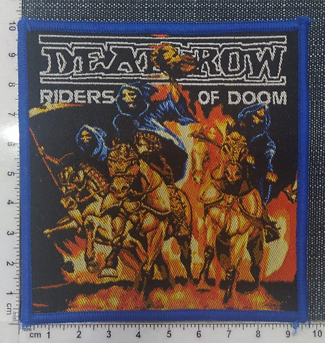 DEATHROW - RIDERS OF DOOM WOVEN PATCH