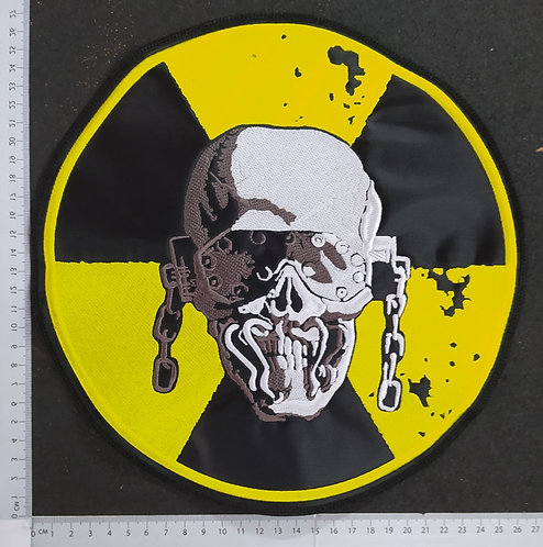 MEGADETH - TOXIC CIRCLE EMBROIDERED BACK PATCH