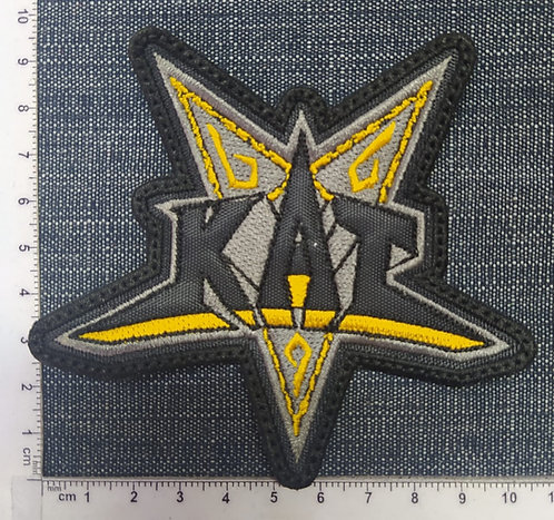 KAT - STAR EMBROIDERED PATCH