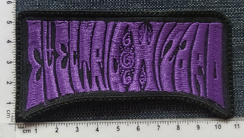 ELECTRIC WIZARD - LOGO EMBROIDERED PATCH