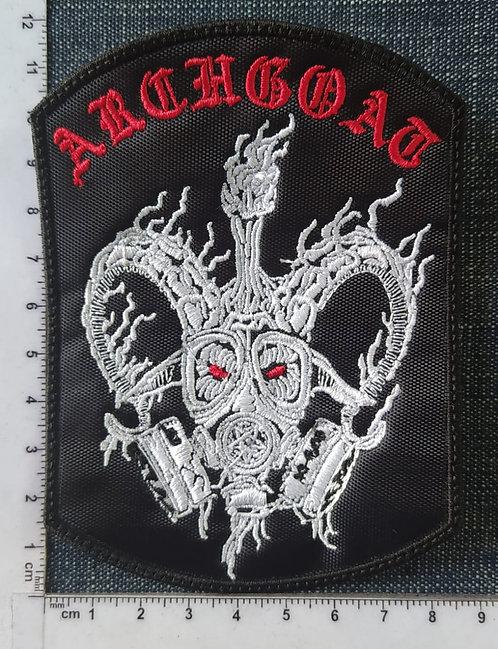 ARCHGOAT - LOGO GOATMASK Patch
