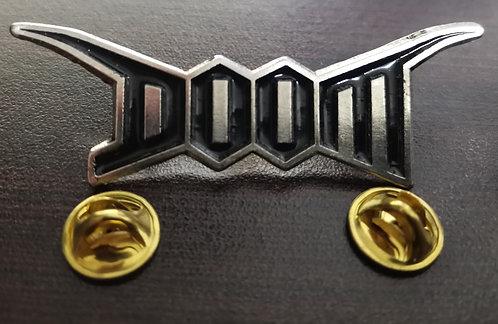 DOOM - LOGO Metal Pin