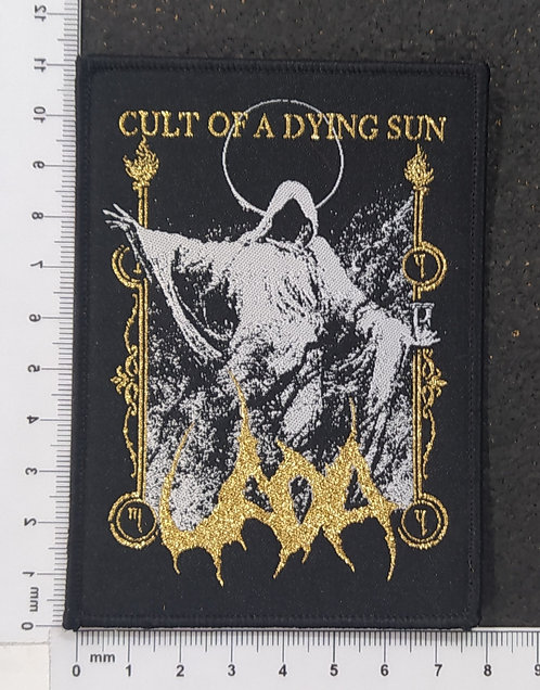 UADA - CULT OF A DYING SUN WOVEN PATCH