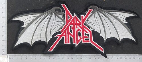 DARK ANGEL - SHAPE WINGS LOGO BACK PATCH