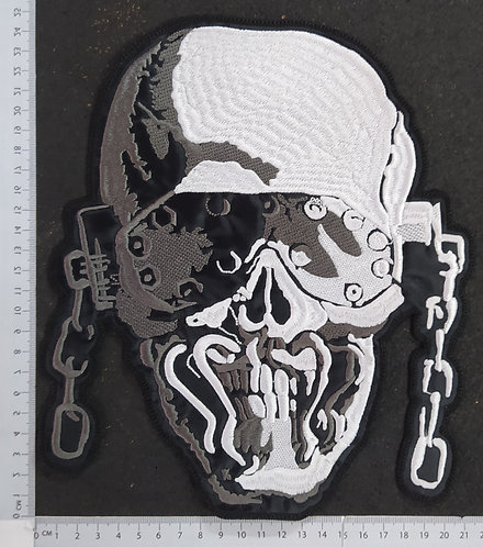 MEGADETH - FACE EMBROIDERED BACK PATCH