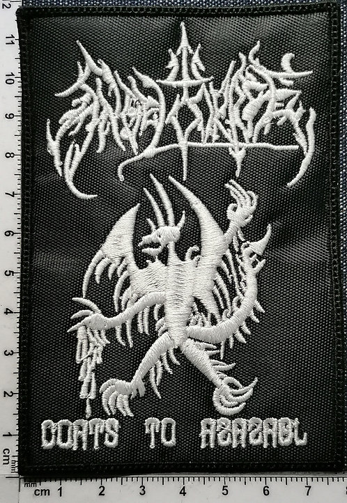 ANGEL CORPSE - Coats to Azazel EMBROIDERED PATCH