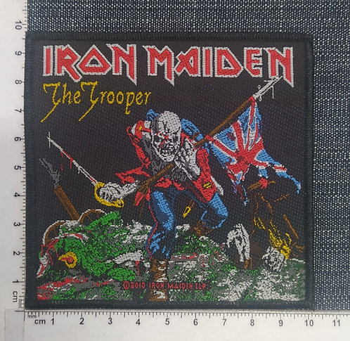 IRON MAIDEN - THE TROOPER WOVEN PATCH