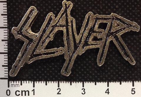 SLAYER - LOGO Metal Pin