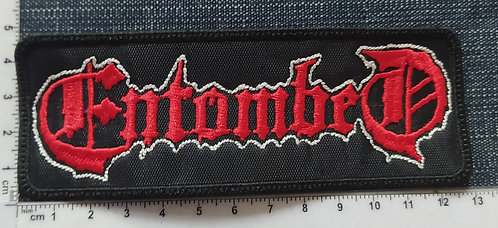 ENTOMBED -  LOGO EMBROIDERED PATCH