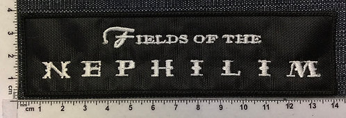 FIELDS OF THE NEPHILIM - LOGO EMBROIDERED PATCH
