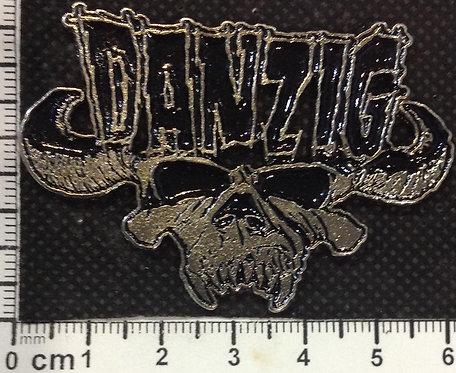DANZIG - LOGO SKULL   Metal Pin