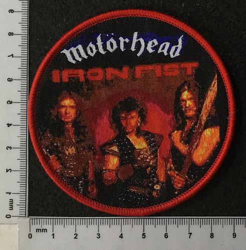 MOTORHEAD - IRON FIST HELL WOVEN PATCH