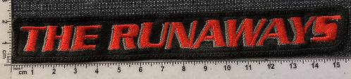THE RUNAWAYS - LOGO EMBROIDERED PATCH