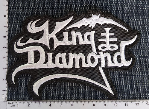 KING DIAMOND - LOGO EMBROIDERED PATCH