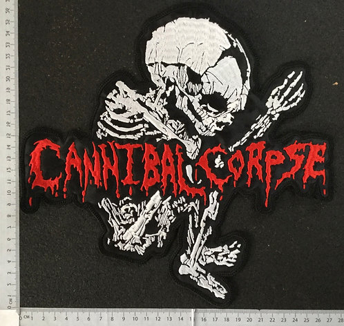 CANNIBAL CORPSE - FETUS EMBROIDERED BACK PATCH
