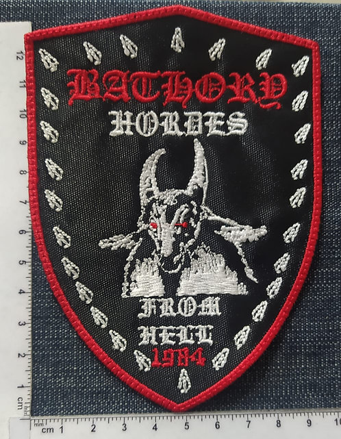 BATHORY - FROM HELL EMBROIDERED PATCH
