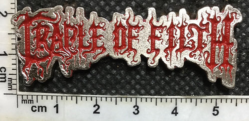 CRADLE OF FILTH - Metal Pin RED