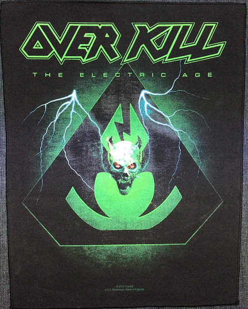 OVER KILL - The Electric Age Back Patch
