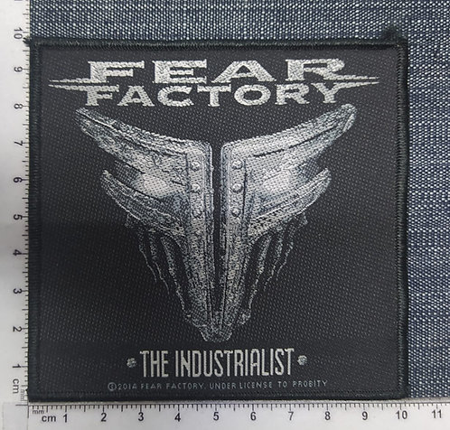 FEAR FACTORY - THE INDUSTRIALIST WOVEN PATCH