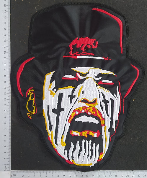 KING DIAMOND - FACE EMBROIDERED BACK PATCH