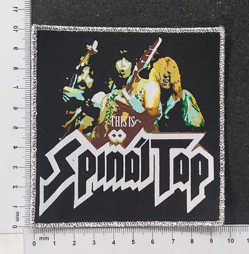 SPINAL TAP - THIS IS WOVEN PATCH