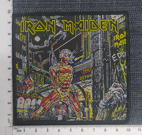IRON MAIDEN - SOMEWHERE IN TIME WOVEN PATCH