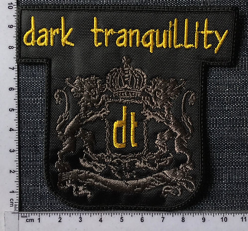 DARK TRANQUILITY -  LOGO EMBROIDERED PATCH