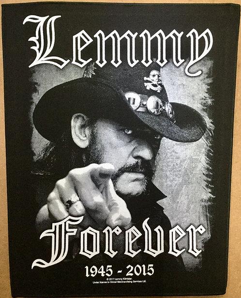 MOTORHEAD - Lemmy Forever Back Patch