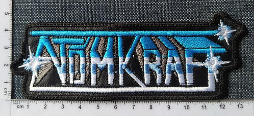 ATOMKRAT - LOGO EMBROIDERED PATCH