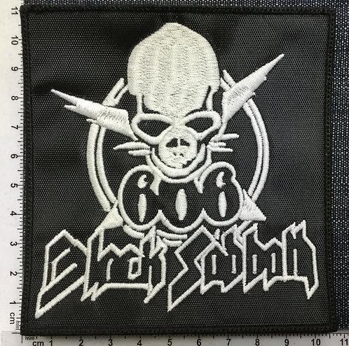 BLACK SABBATH 666 - EMBROIDERED PATCH