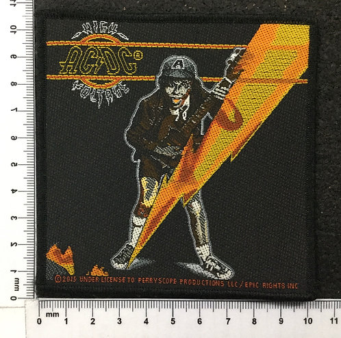 AC/DC - HIGH VOLTAGE WOVEN PATCH