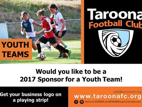2017 Youth Team Sponsorship