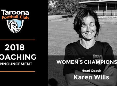 WILLS TO COACH 2018 CHAMPIONSHIP WOMEN