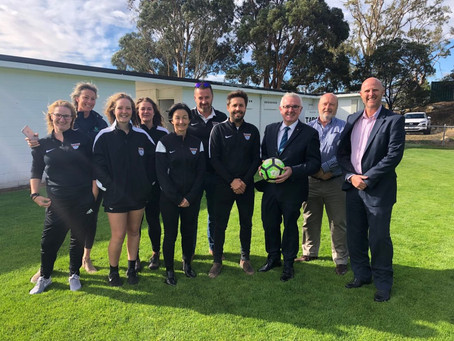 $350,000 Federal Government grant delivered by Andrew Wilkie